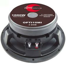 "LOW MEDIUM MID WOOFER 25,00 CM 10"" LANZAR OPTI10MI 500 WATTS RMS COMPETITIONS"