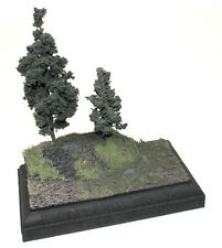 "3"" x 5"" Built Diorama Model Display Base Scale 1/35 1/48 1/72"