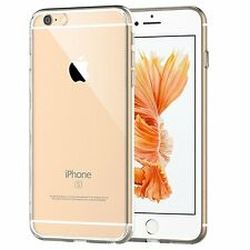 2x iPhone 6s Plus Case Crystal Clear Silicone Bumper Gel Cover For iPhone 6 Plus