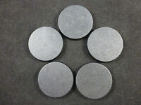 Games Workshop Warhammer 40K 40mm Round Closed Model Bases (5)
