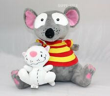 "TOOPY And BINOO 4"" BINOO& 9"" TOOPY Plush Soft Doll US Shipped Best Gift Cute"