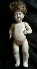 "JDK Kestner 237 ""Hilda"" antique reproduction Germany porcelain doll"