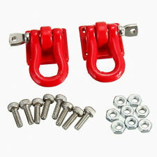 A Pair 1/10 Scale Trailer Hook Accessory For RC Crawler SCX-10 Truck  SN