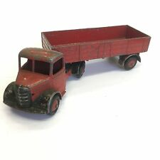 Vintage Dinky Toys Bedford Articulated Lorry Truck Red No. 521 For Restoration