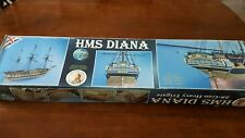 Caldercraft frigate HMS Diana, 1:64 scale wooden model kit