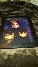 Sheila E. And Prince A Love Bizzare Rare Original Promo Poster Ad Framed! #2