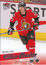 08-09 FLEER ULTRA ROOKIE RC #219 BRIAN LEE SENATORS *3684