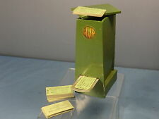 VINTAGE HAND MADE   WOODEN REPILCA  WVR  TICKET DISPENSER WITH CARD TICKETS