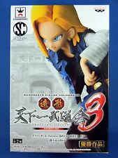 Dragon Ball Z ANDROID No.18 Scultures Figure Colosseum Tenkaichi 3 Banpresto NEW