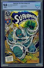 Superman: The Man of Steel #18 (1992) CBCS Graded 9.8 ~ Second Printing ~Not CGC