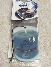 Air Freshener, GLADE, Auto, Car, Home, RV, NEW CAR, Many Uses, Hangs Freely