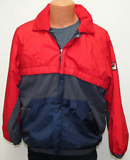 vtg Fila RED GRAY NAVY SKI JACKET Men L 80s/90s Gore-Tex Thinsulate maglificio