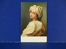 Guido Reni Beatrice Cenci Printed in Italy Vintage Color Postcard Unused PC13