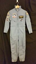 Space Camp Uniform NASA FL Youth sz 16 Name badge patches pin halloween costume
