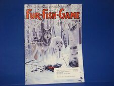 Fur-Fish-Game,February 2004,Canadas On Ice Alaska Wolf Line Survivor Extreme