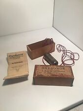 Medical Quackery Vintage Diaduction Oxydonor ,Americana Original Box Booklet