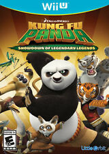 Kung Fu Panda Showdown of Legendary Legends USED SEALED (Nintendo Wii U)