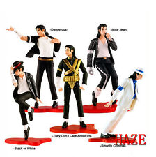 Set 5 Pcs King of Pop Foreve MJ Michael Jackson Action Figure New in box FR*