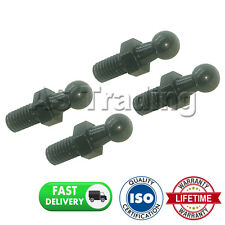 4X Puntal De Gas final Accesorios 10MM Bola Pin Negro Multi Fit GSF55