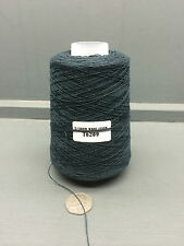 200G DARK BOTTLE GREEN 2/20NM 95% WOOL 5% CASHMERE YARN T6209