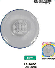 SHOWER BATH TUB HAIR GUARD DRAIN PROTECTOR PLASTIC SINK STRAINER GUARD
