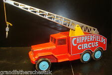 CORGI MAJOR NO 1121 ORIGINAL CHIPPERFIELDS CIRCUS CRANE TRUCK SUSPENSION BOXED