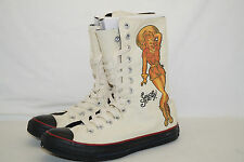 Converse Chucks All Star High TG. 39,5 uk.6, 5 Sailor Jerry Death or Glory Pinup