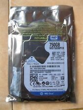 "WD Blue Mobile 750GB SATA 2.5"" Laptop Hard drive HDD 5400 RPM WD7500BPVX"