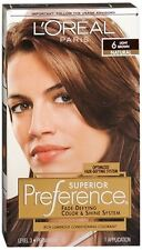 L'Oreal Superior Preference - 6 Light Brown (Natural) 1 Each (Pack of 6)