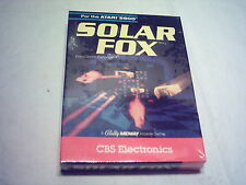 ATARI 2600 7800 GAME;  SOLAR  FOX  Brand NEW & Sealed Complete in Box 1982 1983