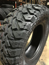 4 NEW LT 33x12.50R18 Terra Commander M/T Mud Tires MT 33 12.50 18 R18 1250