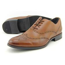Stacy Adams Stockwell Men US 10 Brown Oxford Pre Owned  1316
