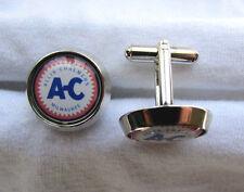 Allis Chalmers Cuff Links , A-C logo cufflinks , Allis Chalmers cuff links
