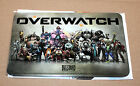 Overwatch very rare Promo Metal Shield Plate Display Sign Blizzard