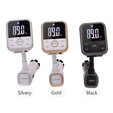 Universally 3.5 mm Bluetooth Handsfree Car MP3 Player FM Transmitter LED New Kit
