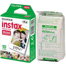 10 Fuji Instax Mini 8 Film Bulk Pack Fujifilm Mini 25/50s Mini 90/7s Original