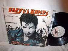 GARY US BONDS-STANDING IN THE LINE OF FIRE-PHOENIX PRT-0072 NO BARCODES NM/NM LP
