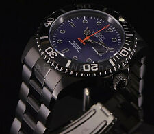 Invicta 23008 Pro Diver Black Gunmetal Blue Dial Stainless Steel Bracelet Watch