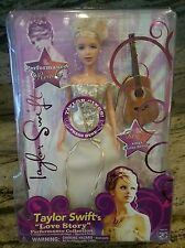 BRAND NEW in Box ! Taylor Swift Love Story dress doll Collection Toy Guitar RARE