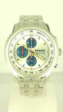 FOSSIL SPEEDWAY C-2372 Watch Stainless Steel Chrono WristWatch CH 2372 Original