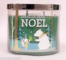 Bath & Body Works VANILLA BEAN NOEL 3-Wick 14.5 oz Scented Candle