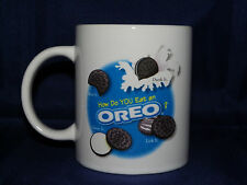 Houston Harvest & Nabisco Oreo Cookie Dunking Coffee Mug How Do You Eat an Oreo?