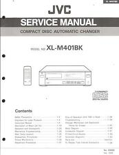 JVC ORIGINALE Service Manual per XL-M 401
