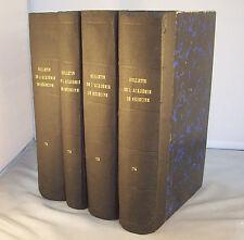 BULLETIN DE L'ACADEMIE DE MEDECINE 1914 & 1915 / DEBOVE & BLANCHARD / T 71 à 74
