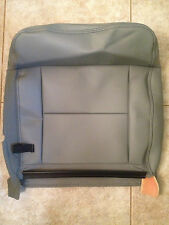 04-06 Ford F-150 Factory Original REAR UPPER Seat Cover (Gray Leather)