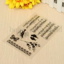 Music Notes Stamp Transparent Rubber Clear Silicone Scrapbooking DIY Album Craft