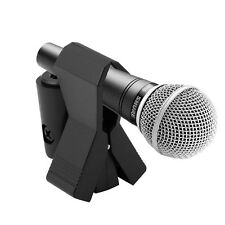 Flexible Shockmount Universal Butterfly Spring Microphone Mic Clip Holder Black