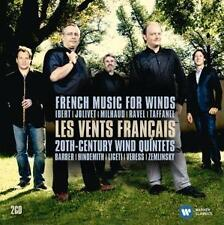 The Best quintet Music de Emmanuel pahud, les vents FRANCAIS (2014), neuf emballage d'origine, 2cd
