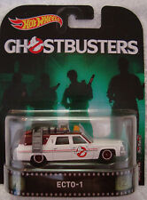 2017  HOT WHEELS   GHOSTBUSTERS  ECTO 1  NEW  FILM  RETRO ENT