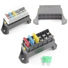 Fuse Box 6 Way for Standard Blade Fuses ATO Holder / Block Base Entry
